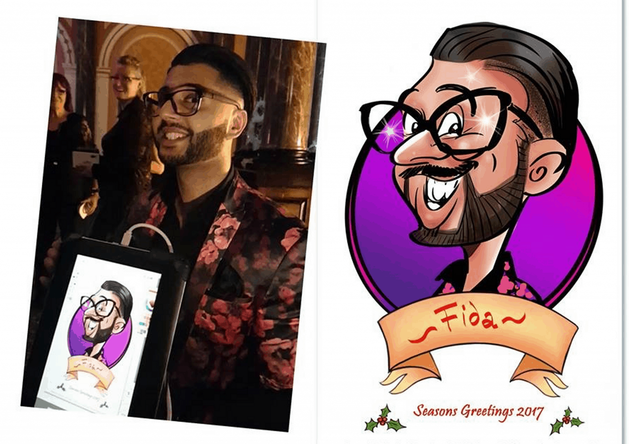 Live_digital_caricature_at_Gibson_Hall_by_Luisa__Calvo