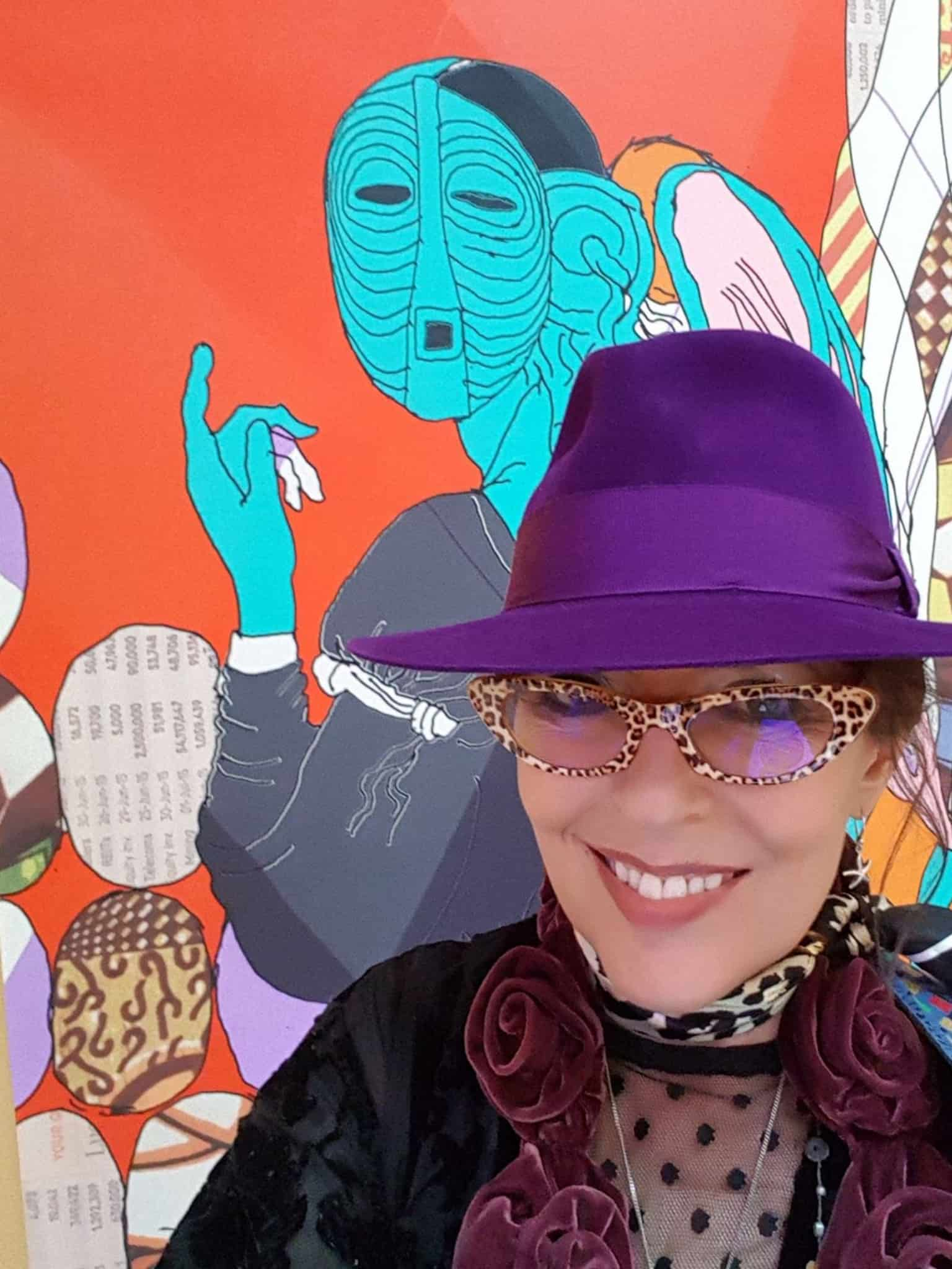 Luisa Calvo – traditional and digital caricaturist working at the Royal Academy of Arts