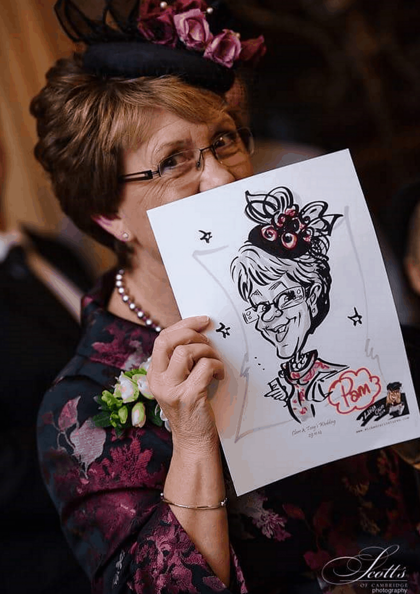 Wicked Caricatures Ltd – wedding caricatures