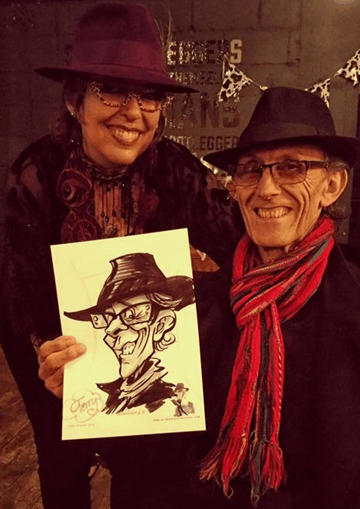 Corporate caricatures by Luisa Calvo 4