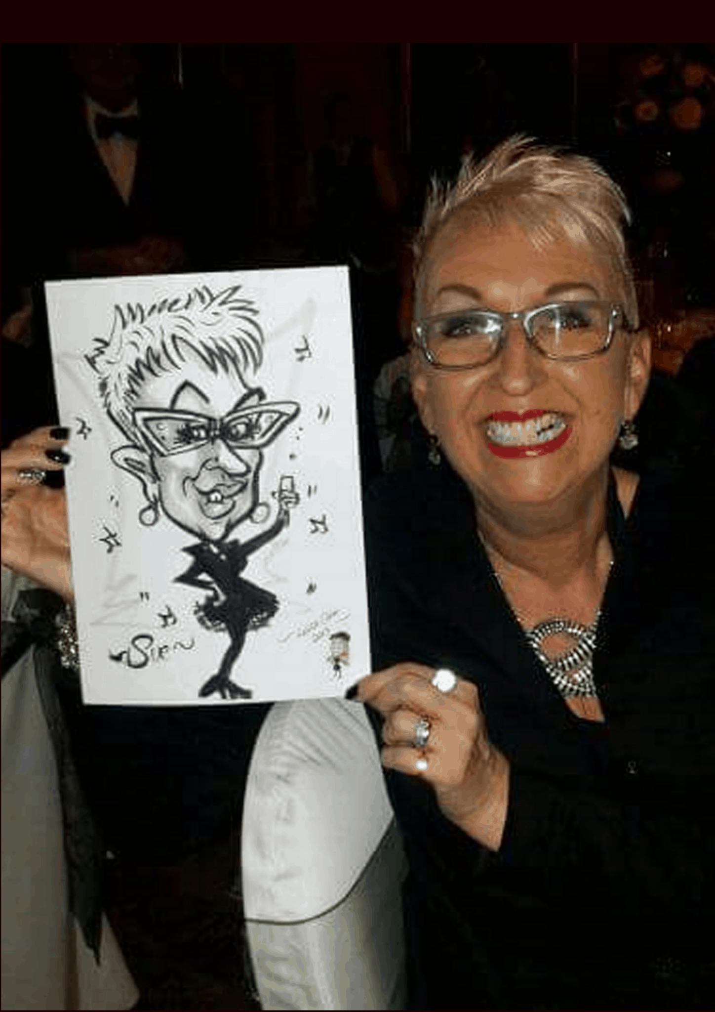 Corporate caricatures byLuisa Calvo