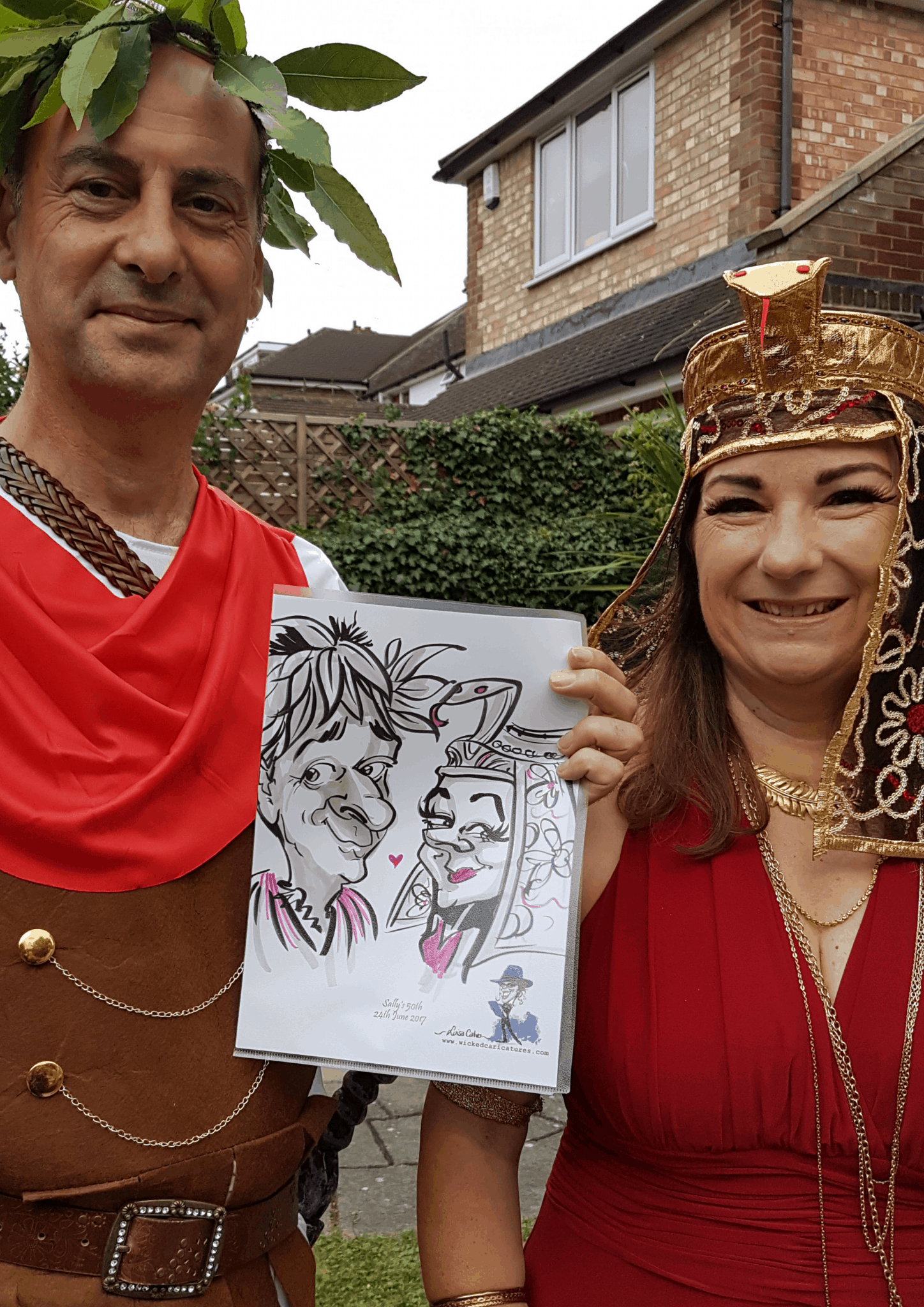 PARTY caricatures – -by Luisa Calvo 4