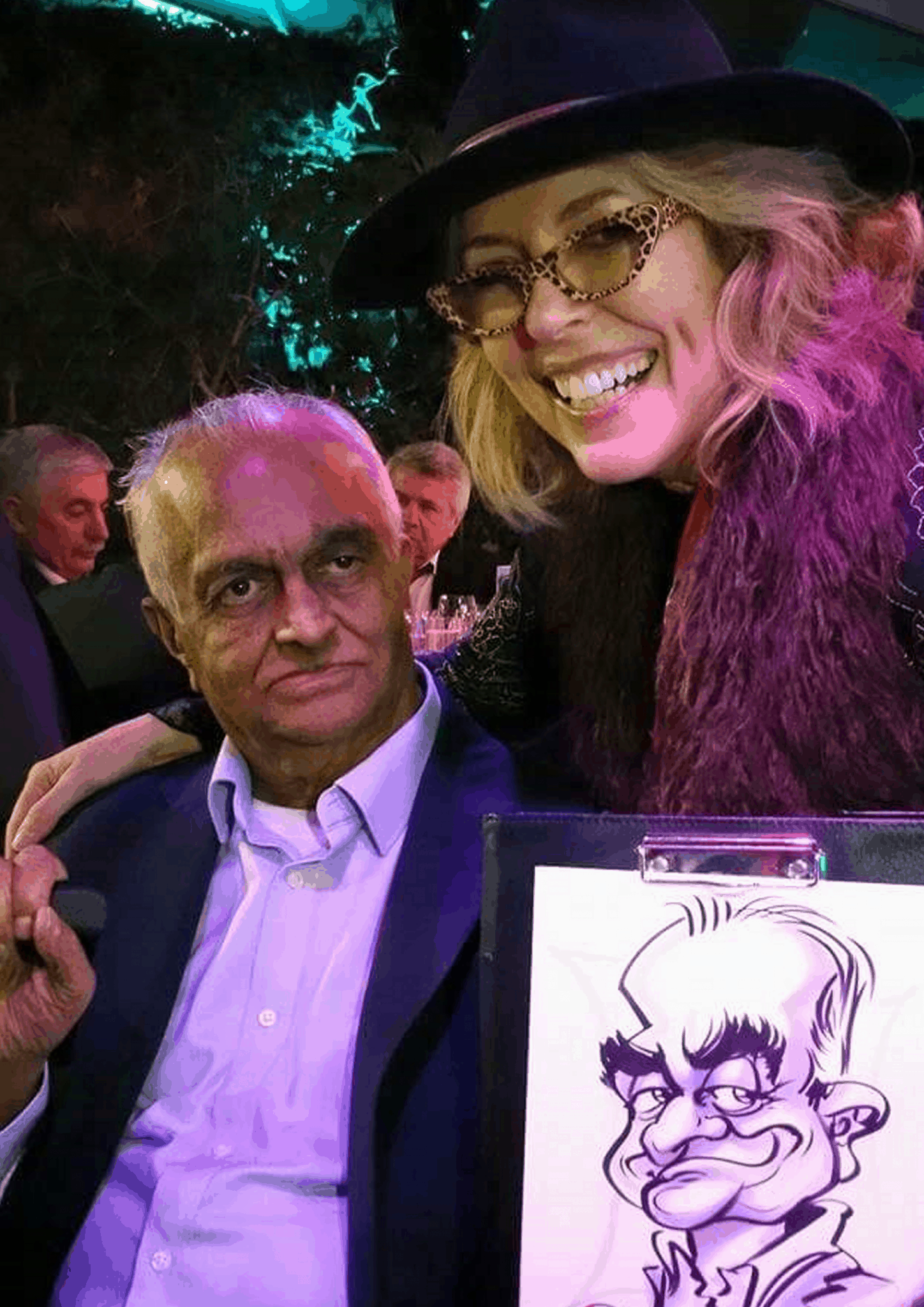 PARTY caricatures – -by Luisa Calvo 8