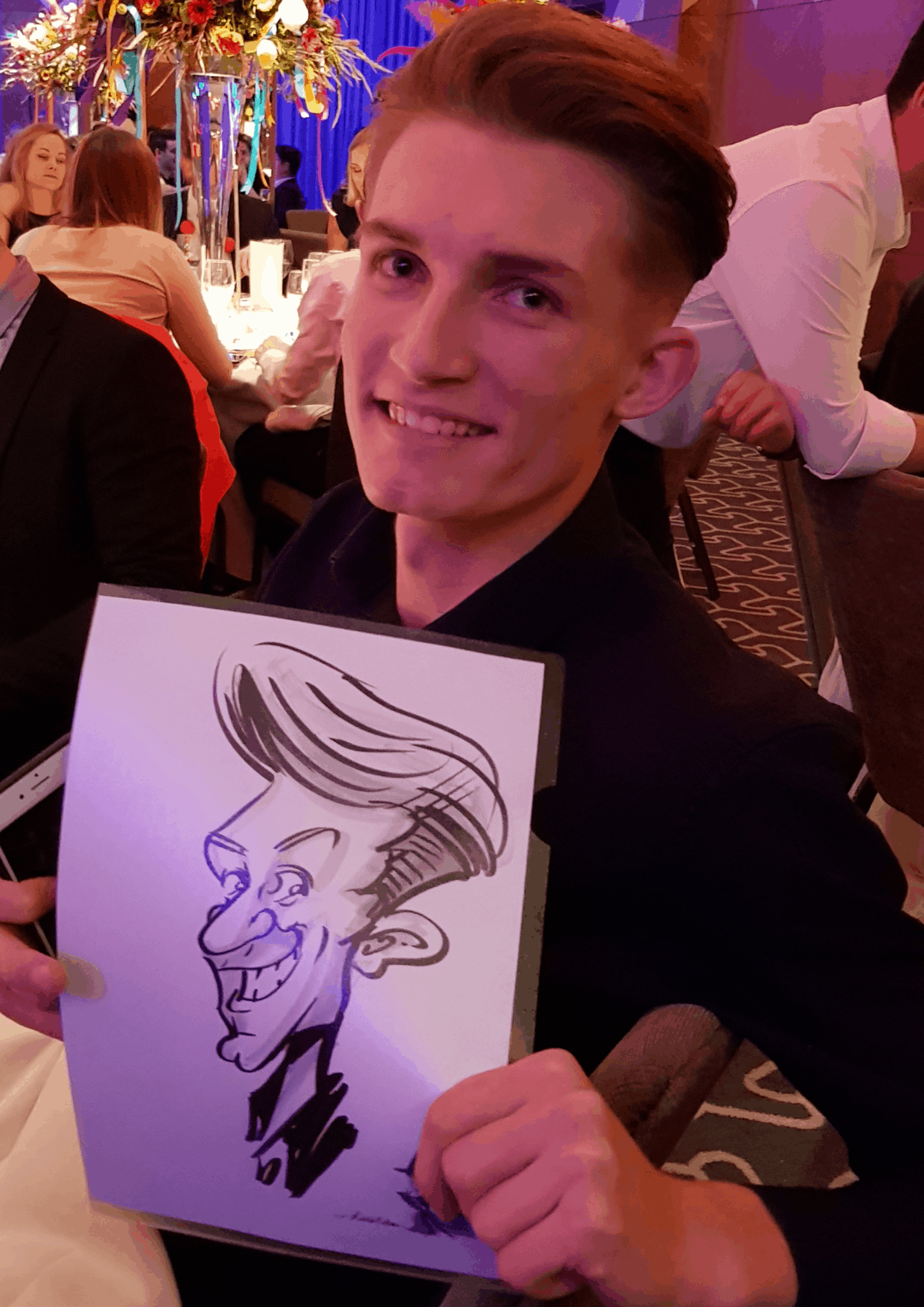 Wedding caricatures – by Wicked Caricatures Ltd